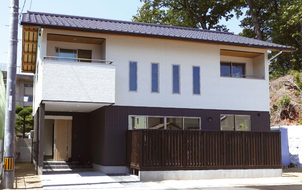 こだわりの詰まった、新・和風の家